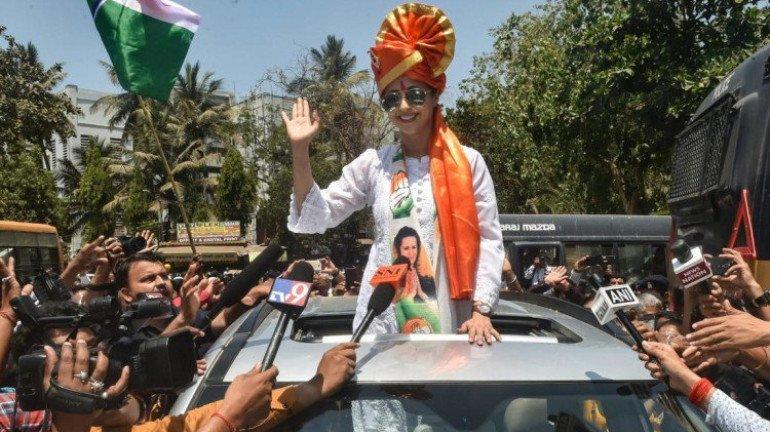 Police books man for 'objectionable' post against Congress leader Urmila Matondkar