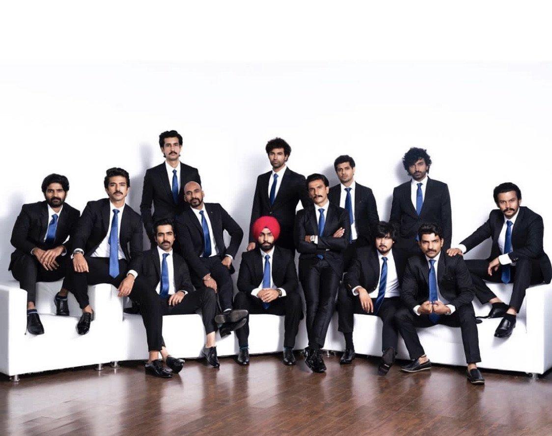 रणवीर सिंह समेत फिल्म '83 की पूरी टीम शूटिंग के लिए इंग्लैंड हुई रवाना