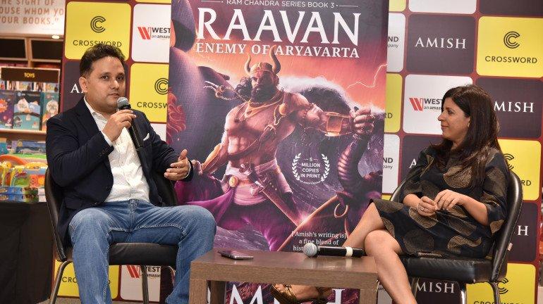 Zoya Akhtar unveils the cover of Amish's upcoming blockbuster – Raavan-Enemy of Aryavarta