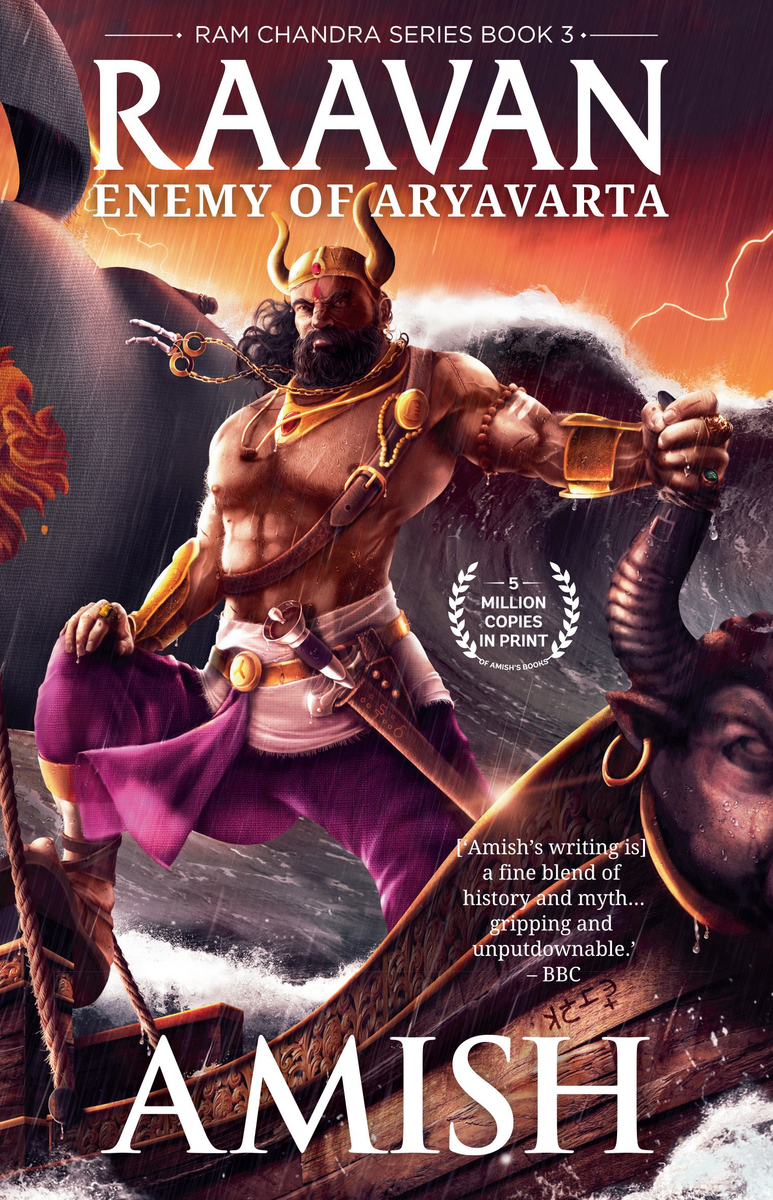 Zoya Akhtar unveils the cover of Amish's upcoming blockbuster – Raavan-Enemy of Aryavarta