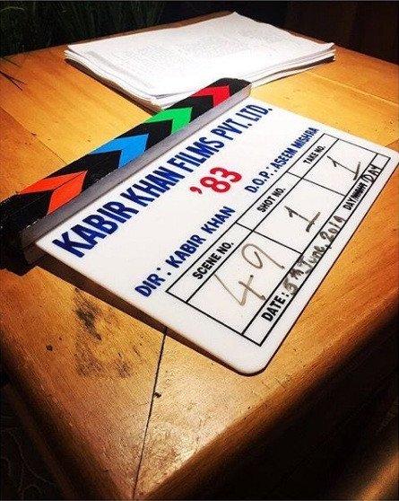 लंदन में शुरू हुई रणवीर सिंह की फिल्म '83 की शूटिंग!