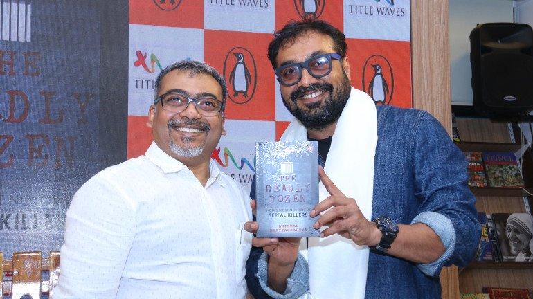 Anurag Kashyap Along With Author Anirban Bhattacharyya Unveils 'The Deadly Dozen: India's Most Notorious Serial Killers'