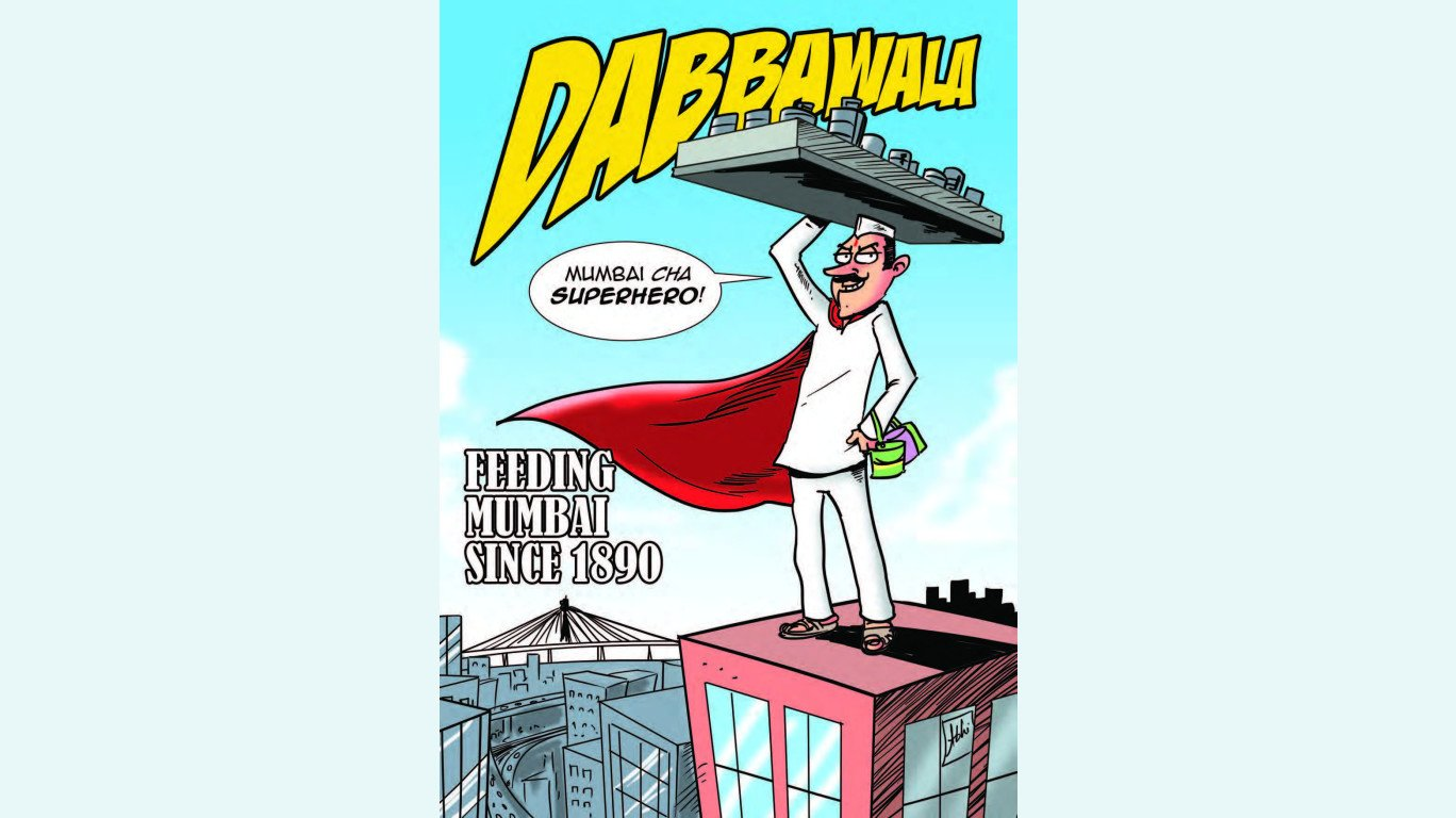 SodaBottleOpenerWala pays Tribute to Mumbai's Dabbawalas with a Special Comic Book