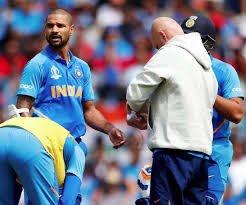 टीम इंडियाला जबर धक्का, गब्बर वर्ल्डकपमधून बाहेर