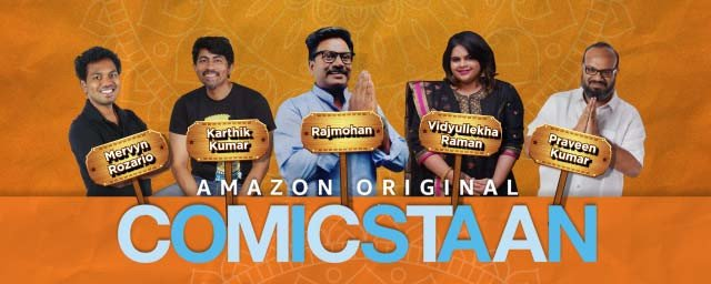 Amazon Prime Video to soon bring the first season of 'Comicstaan Tamil'