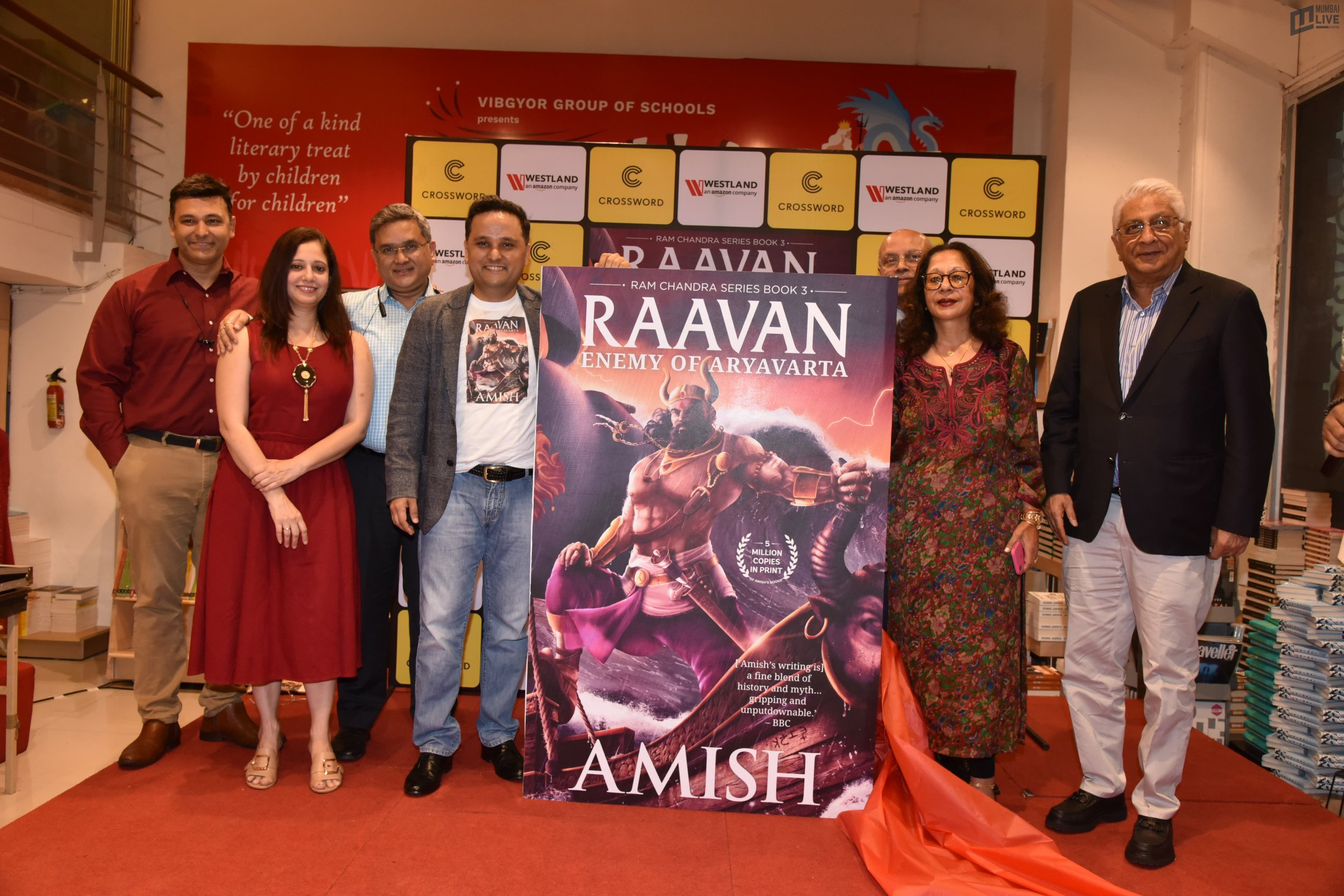 Author Amish releases his much-awaited book Raavan - Enemy Of Aryavarta in Mumbai