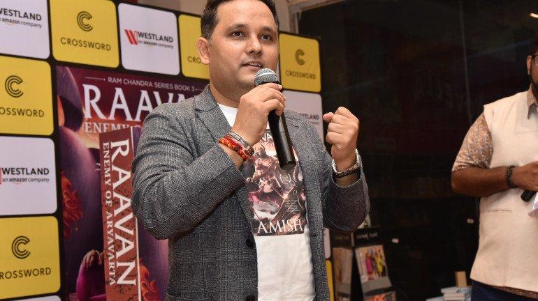 Author Amish releases his much-awaited book Raavan - Enemy Of Aryavarta in Mumbai