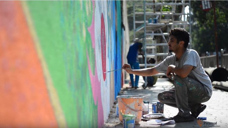 The Byculla Wall Project: A month-long wall painting campaign