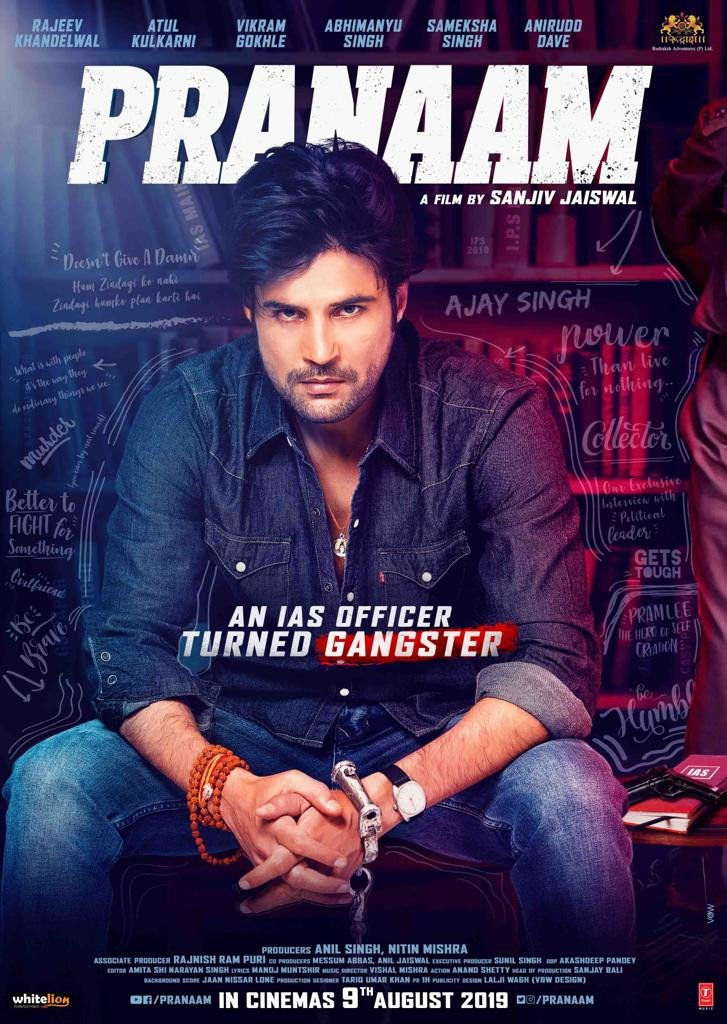 Rajeev Khandelwal back with a gangster drama 'Pranaam'