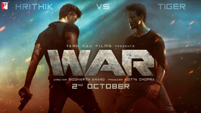Hrithik Roshan and Tiger Shroff's much-anticipated action entertainer titled 'War'