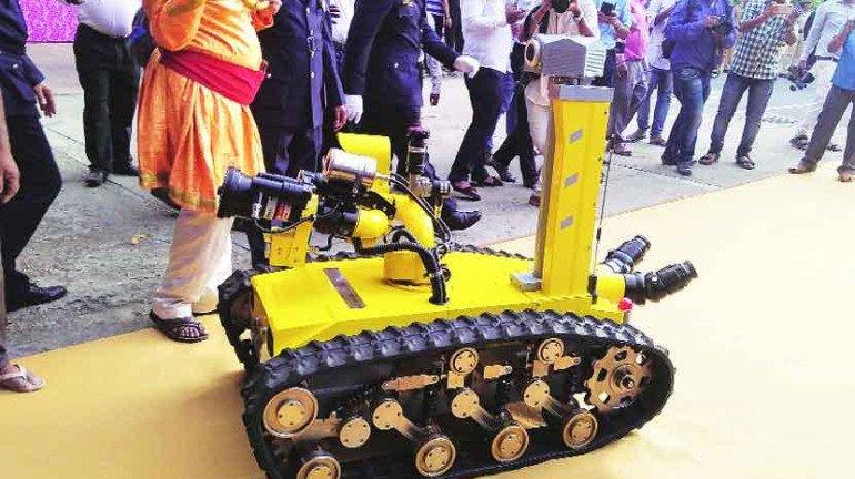 'फायर रोबो' करणार अग्निशमन दलाची मदत