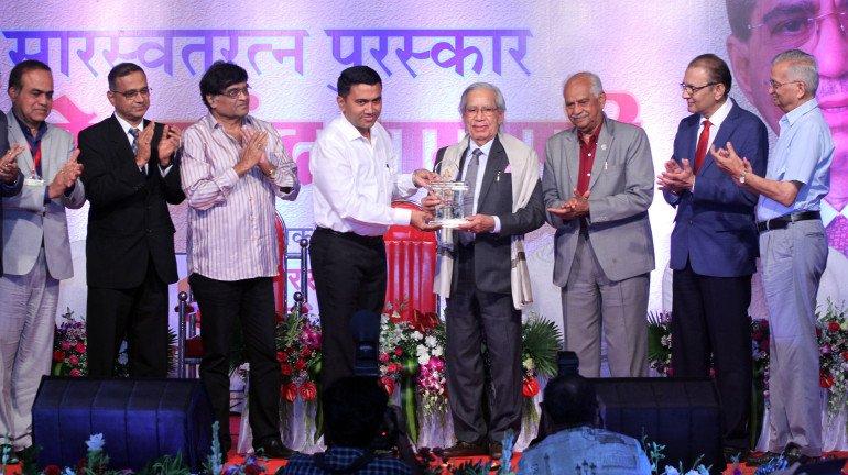 Dr. Premanand Ramani Gets Felicitated With 'Saraswat Ratna Puraskar'