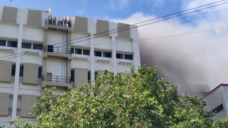 MTNL Building Fire: BJP MP Poonam Mahajan demands high level inquiry