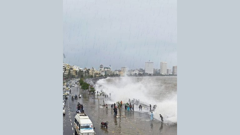 Mumbai Rains: Red alert issued for the city