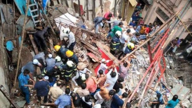 Dongri Building Collapse: Case Registered against the Trustees, Officers and Contractor