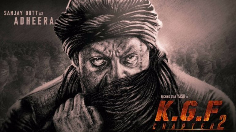 Sanjay Dutt's look as 'Adheera' releases from KGF Chapter 2