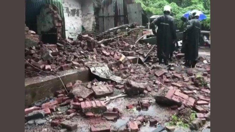 चांदिवली में दीवार गिरी, 1 की मौत 3 घायल