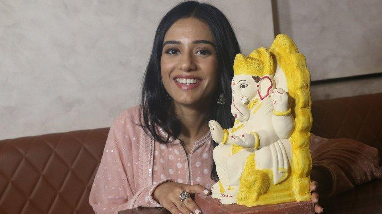 Actress Amrita Rao and Beach Warriors Launches Eco Bappa Morya Campaign
