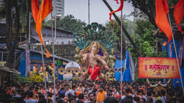 The Floor Is All Set For Ganesh Chaturthi With Chinchpokli's Chintamani Arrival
