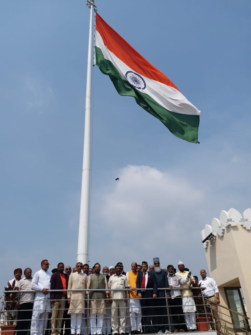 Here's Where The Tallest Flags In Mumbai Unfurl