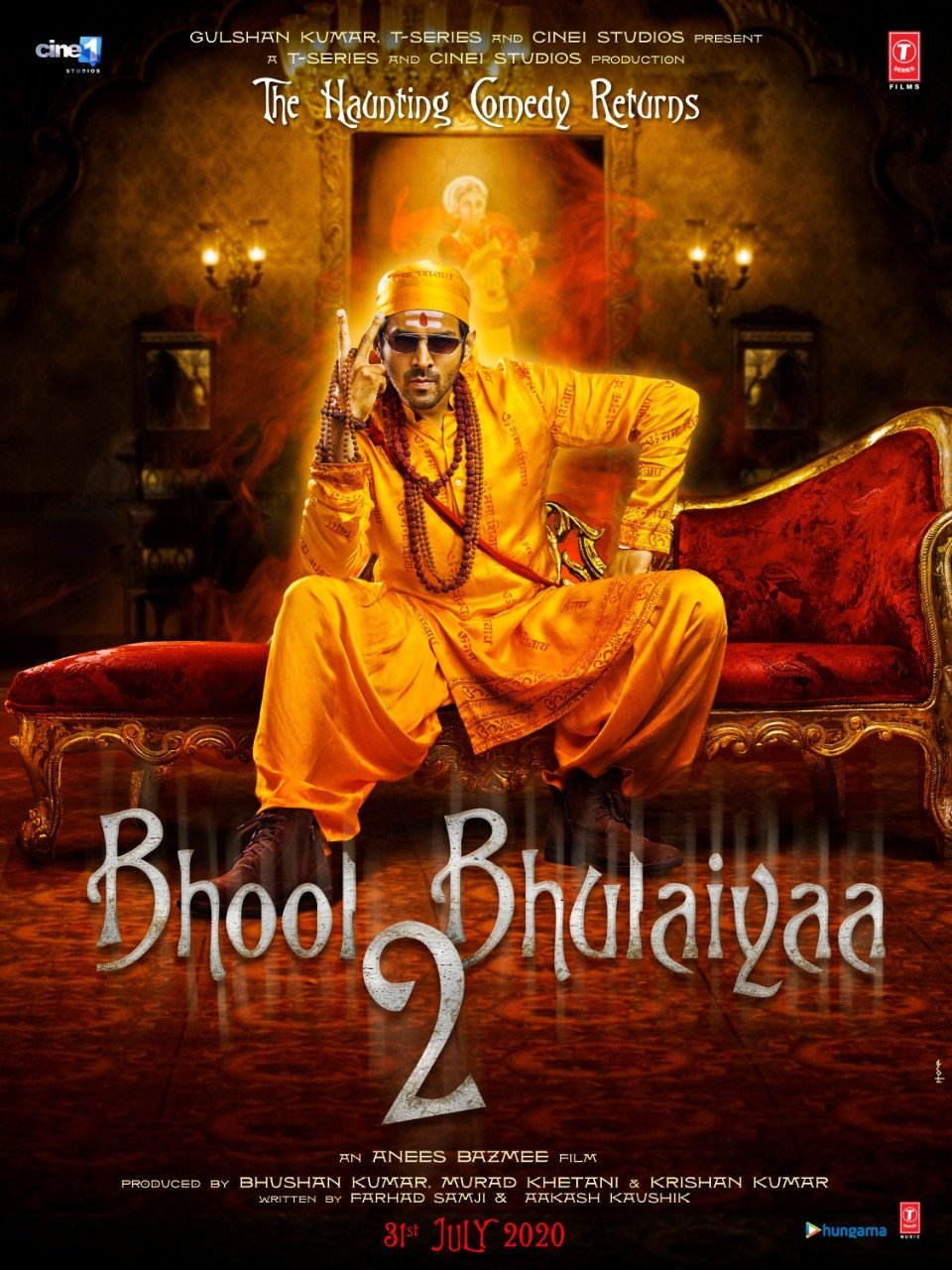 Murad Khetani, Anees Bazmee & Kartik Aaryan join Bhushan Kumar for the 'Bhool Bhulaiyaa' franchise