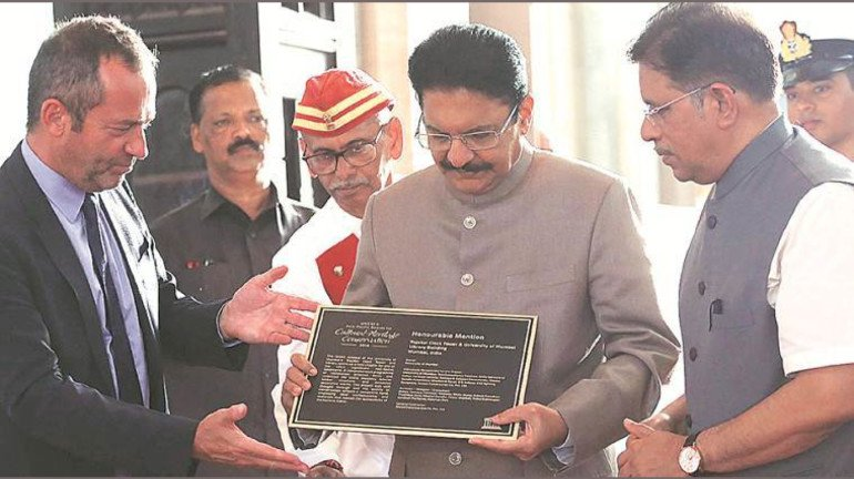South Mumbai Can Be India's Best Heritage District: Governor C. Vidyasagar Rao While Receiving UNESCO's Asia Pacific Award