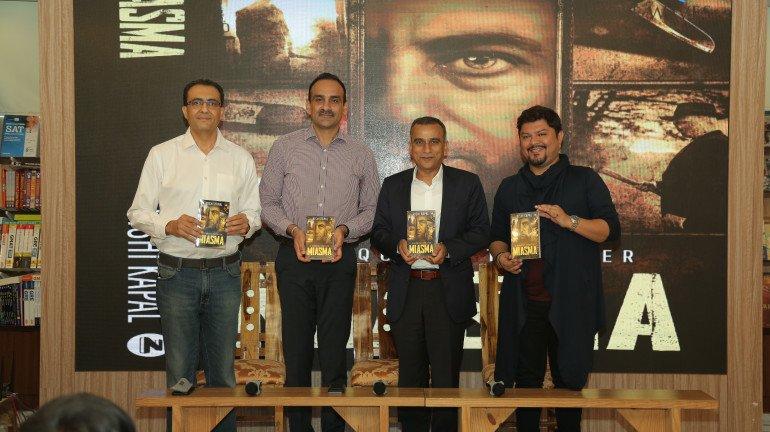Rishi Kapal Launches His Latest Fictional Novel Miasma at Title Waves