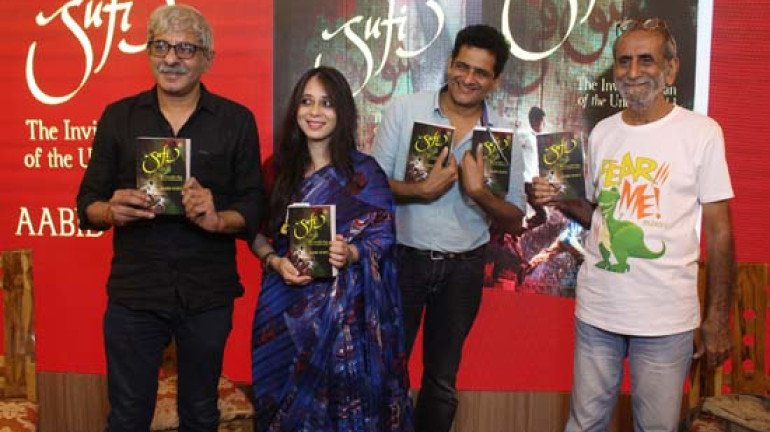 Aabid Surti Launches His Book Titled 'Sufi' at Title Waves