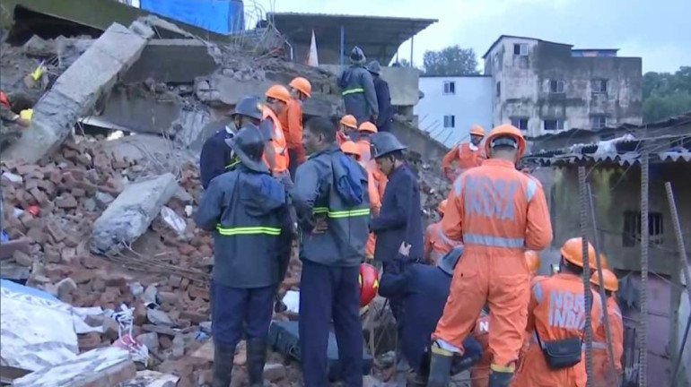 Bhiwandi building collapse: Police arrest developer and landowner after the death of two residents