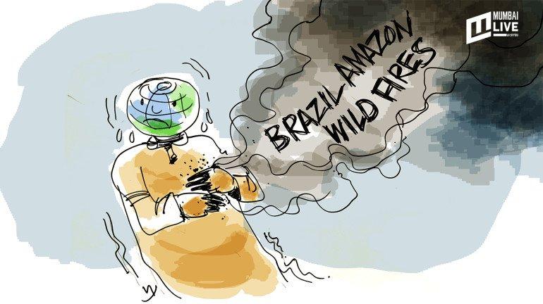 Amazon Fire: Burn-dling devastation for Earth