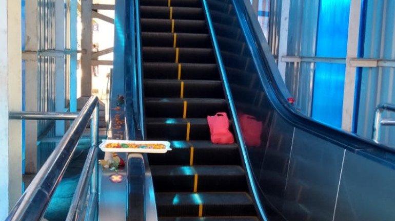 Borivali Station to get three more escalators