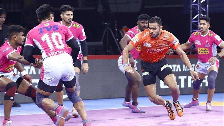Pro Kabaddi League 2019: Abhishek Singh's magical performance helps U Mumba to a massive win over Jaipur Pink Panthers