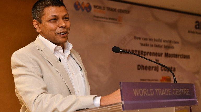World Trade Center hosts Jumboking Founder Dheeraj Gupta for a 'smarterpreneur masterclass'