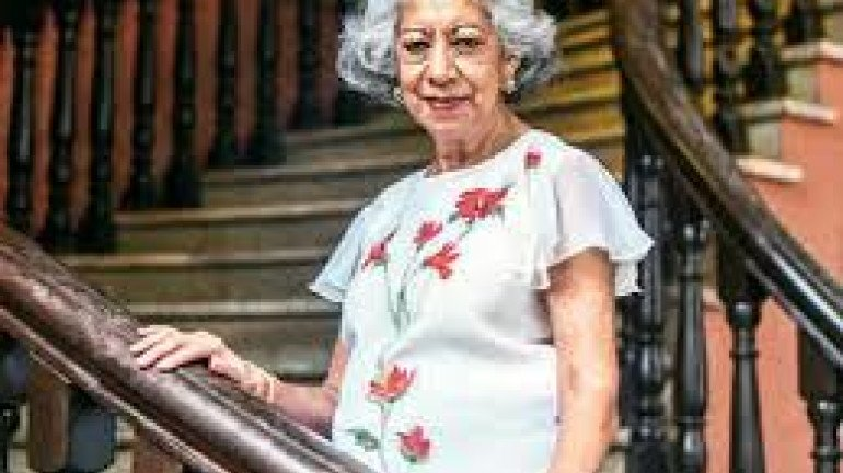 Vispi Balaporia Becomes The First Woman President Of Asiatic Society of Mumbai