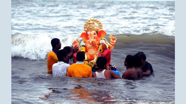 Ganesh Utsav 2019: Going for Ganpati Visarjan? Take a look at the high tide timings