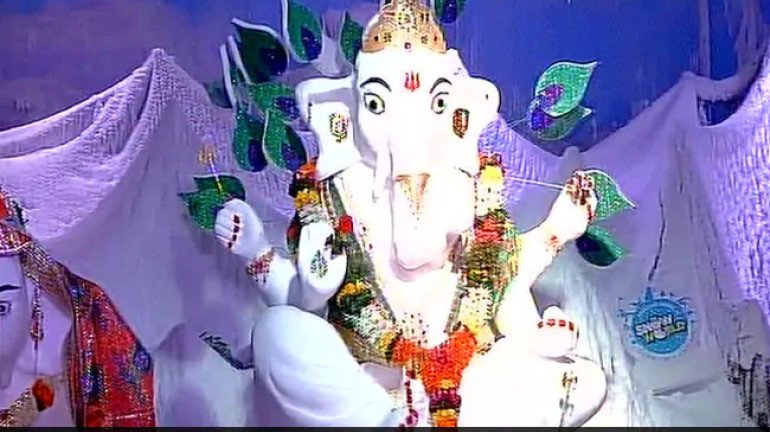 Ganesh Utsav 2019: There's a 500kg 'Snow Ganesha' in Mumbai and it's a must-visit!
