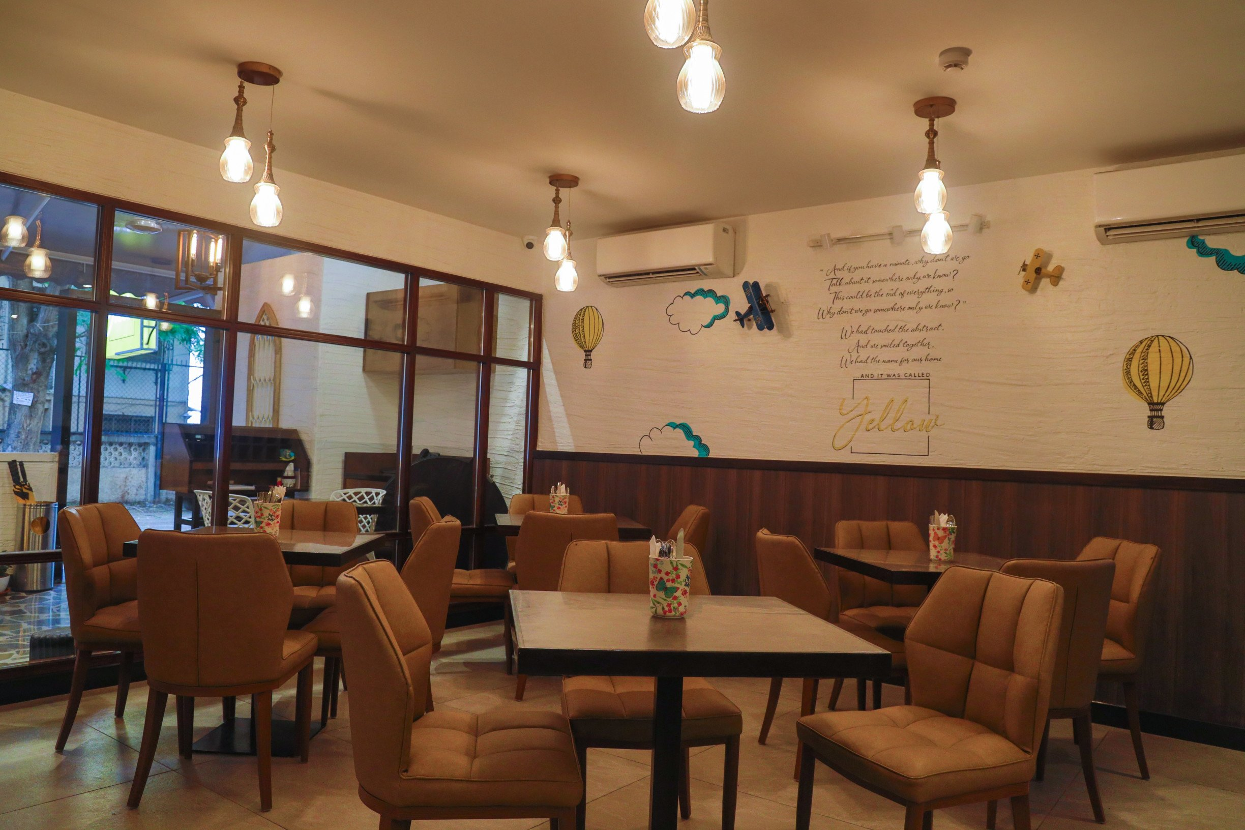 And It Was Called Yellow: A Casual Dining Space Which Will Brighten Up Your Day