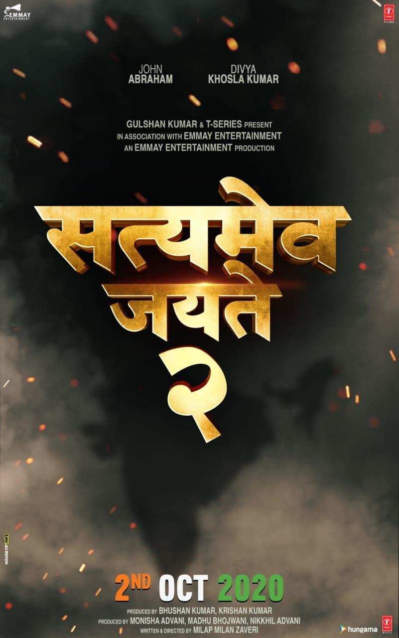 John Abraham's Satyameva Jayate 2 to release on October 2, 2020