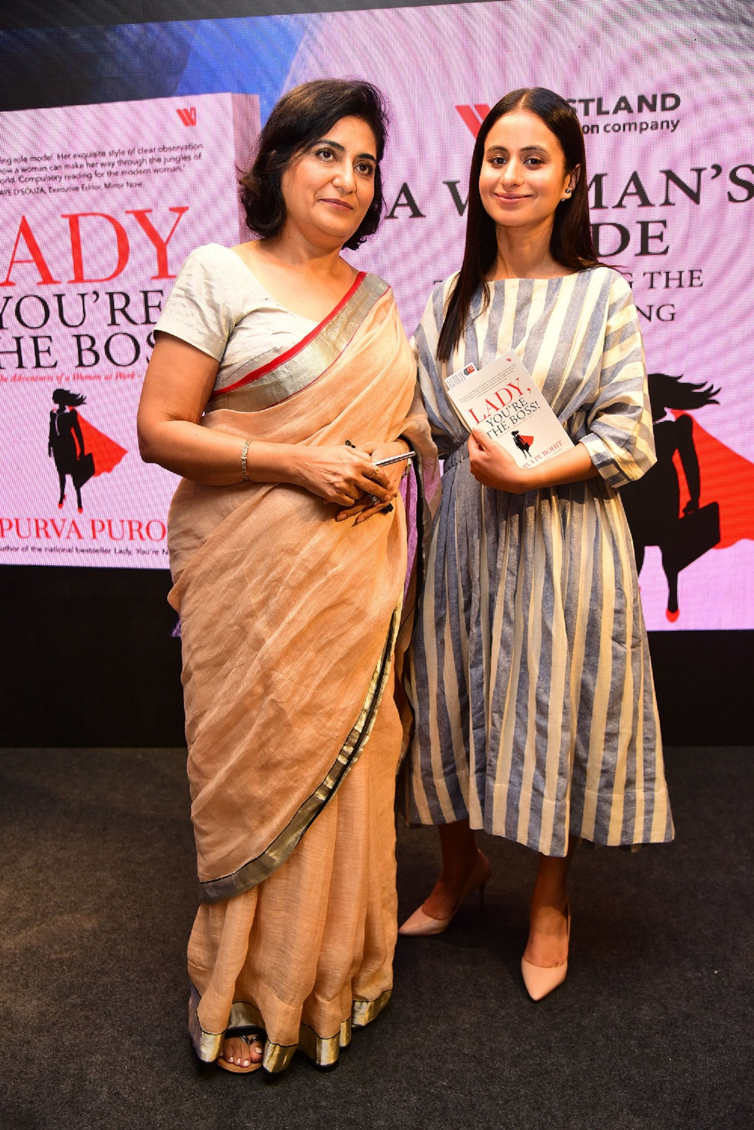 Best-Selling Author Apurva Purohit, Launches Her Second Book- 'Lady,You're The Boss!'