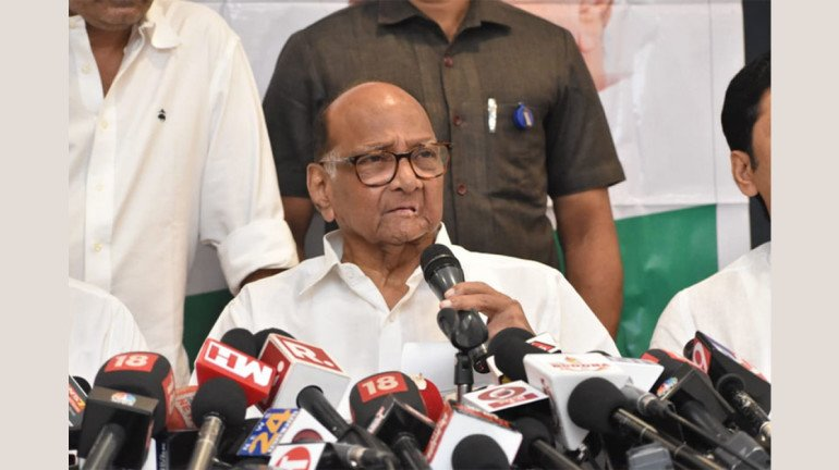 Won't join hands with Shiv Sena: NCP chief Sharad Pawar