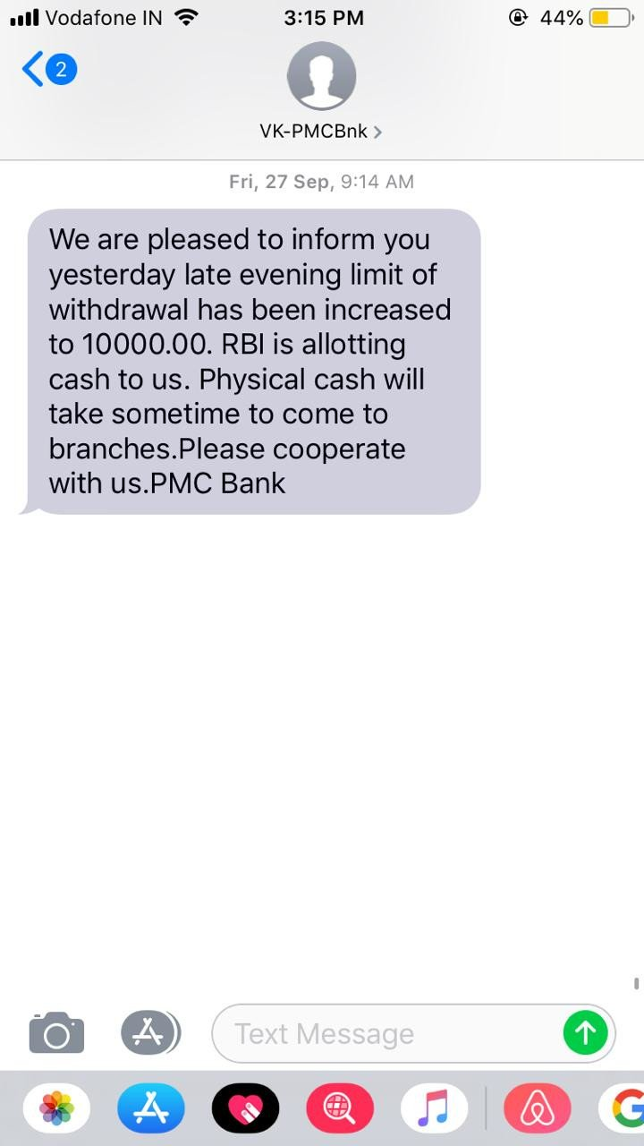 A PMC Bank Customer Narrates How The Last Few Days Have Been For Him