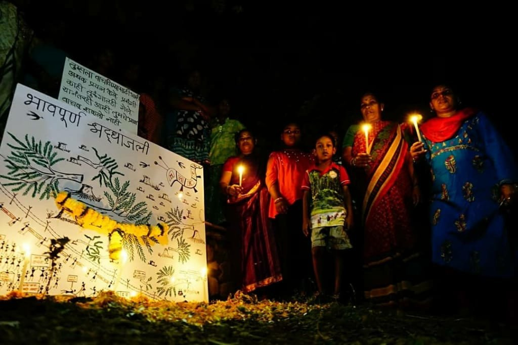 Save Aarey: Tribal Community In Aarey Pay Tribute To The Trees