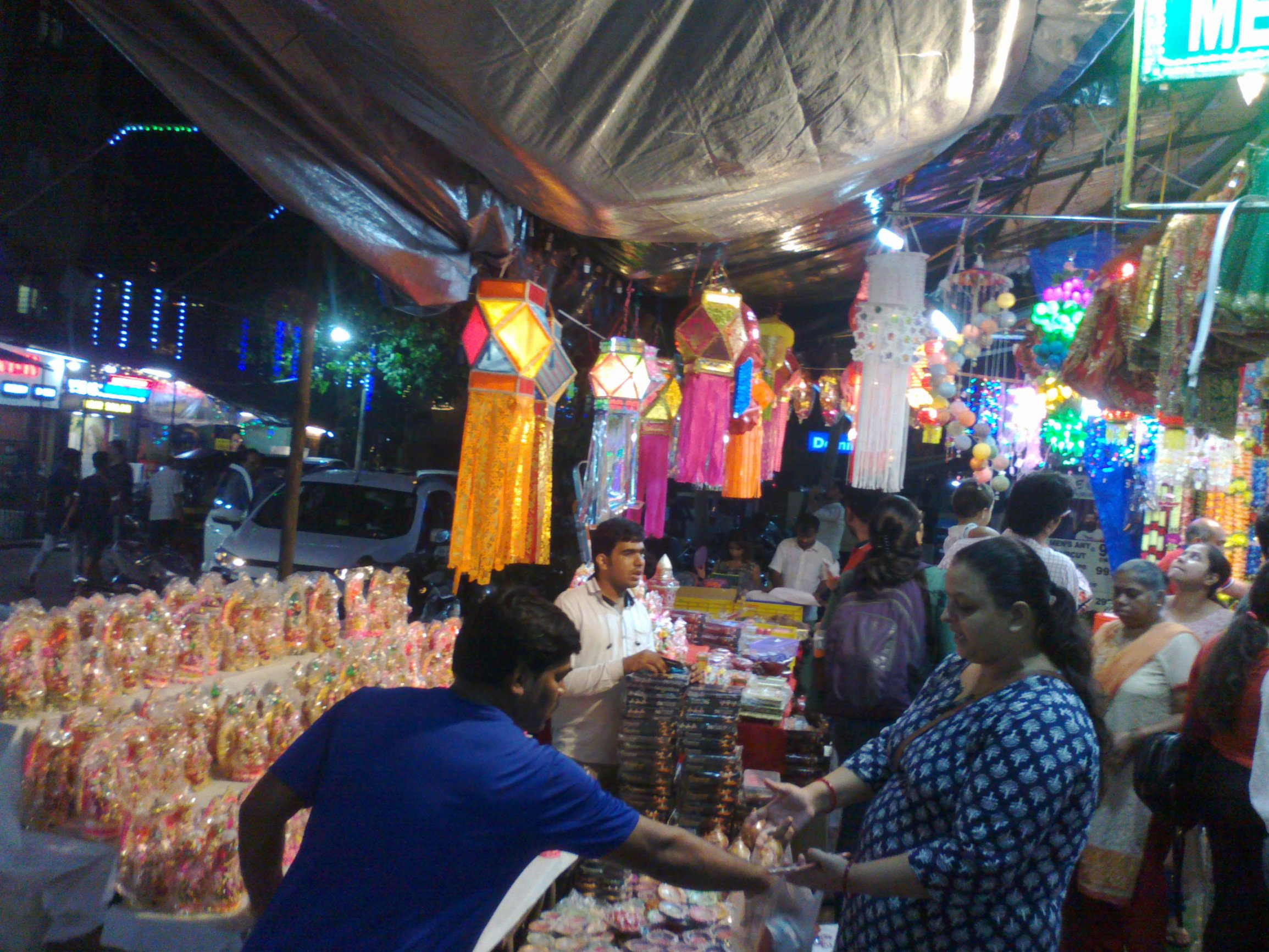 A Safe and Glittering Diwali: Businessmen witness increase in sales during the 'Festival of Lights'