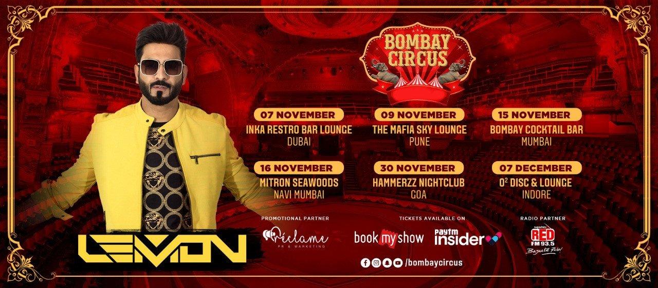 Bombay Circus announces tour with DJ Lemon starting November