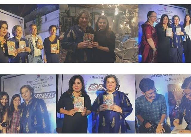 HarperCollins India Launches Kaveree Bamzai's Empowering Go-To Guide For A Guilt Free Life- No Regrets