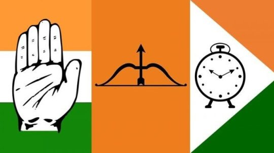 Image result for ncp shivsena congress