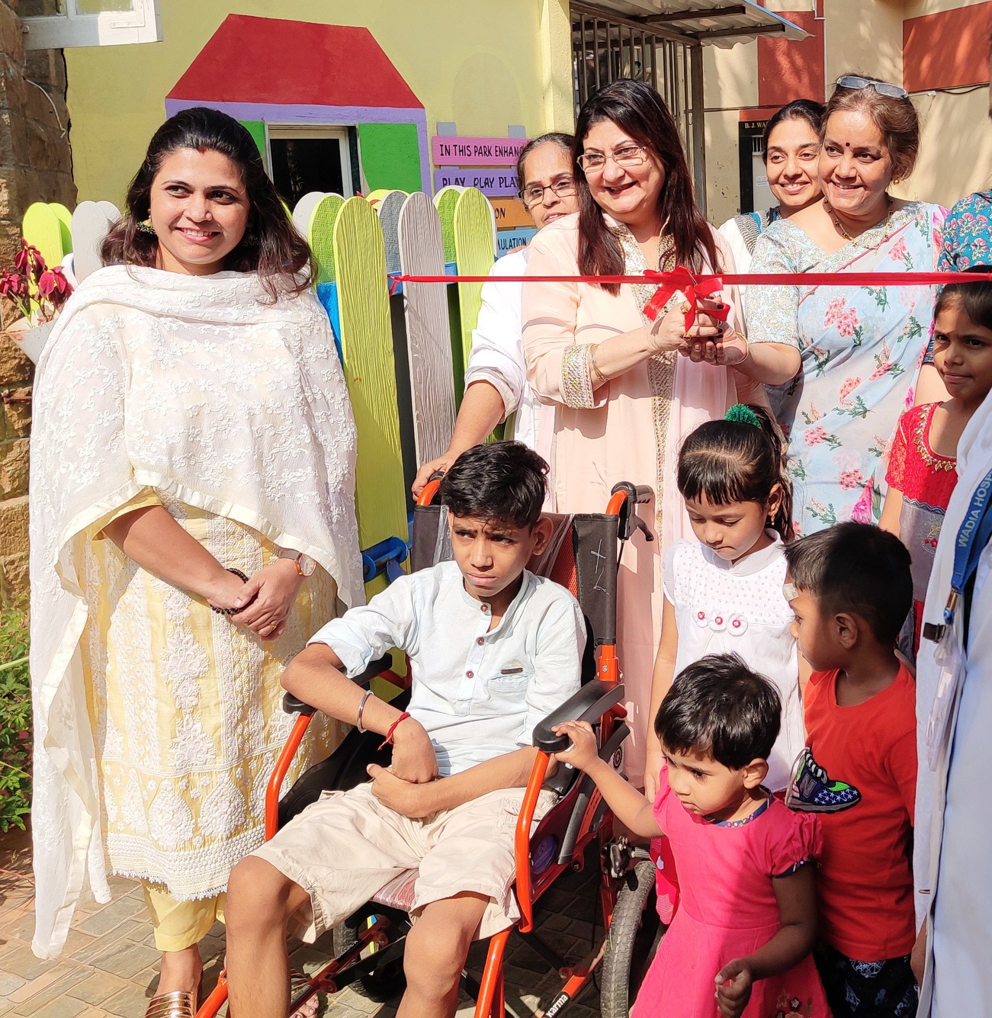 Childrens Day: Wadia Hospital Introduces India's First Therapy Park For Paediatric Patients In Hospital Premises