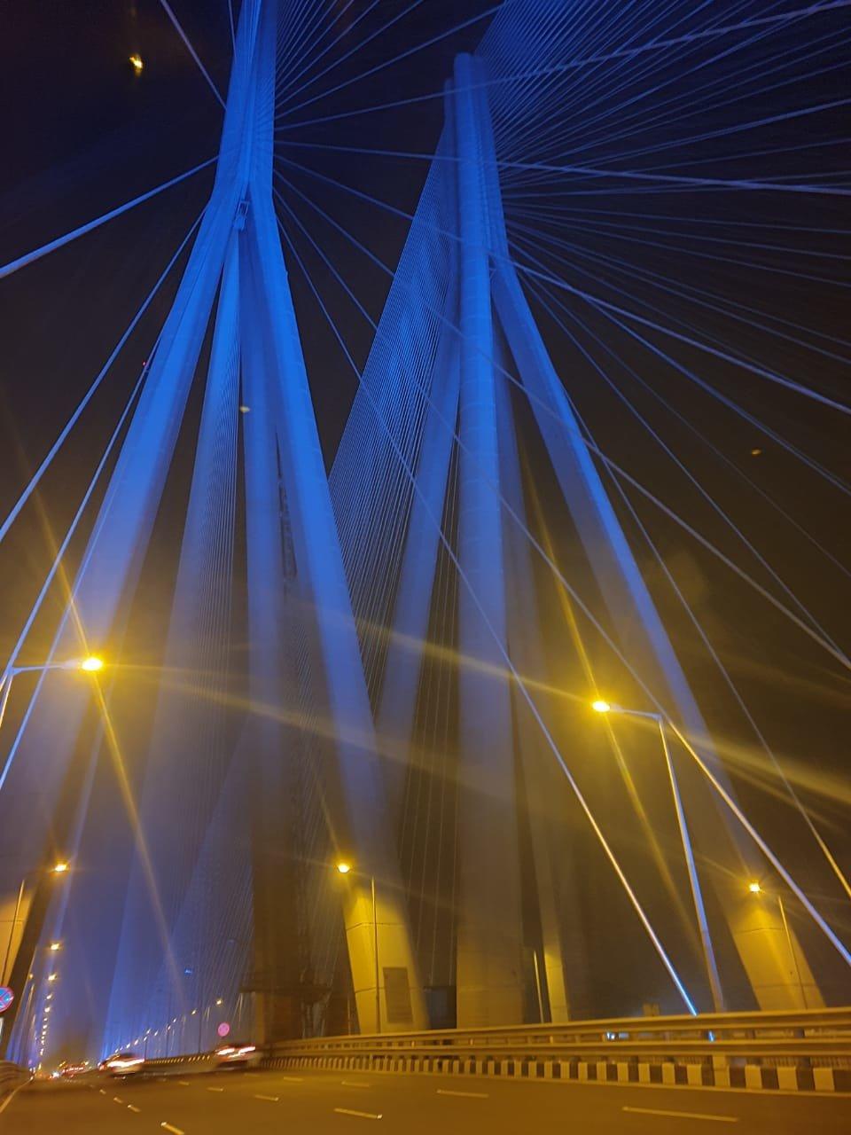 Here's why three Major Landmarks In Mumbai were lit in blue