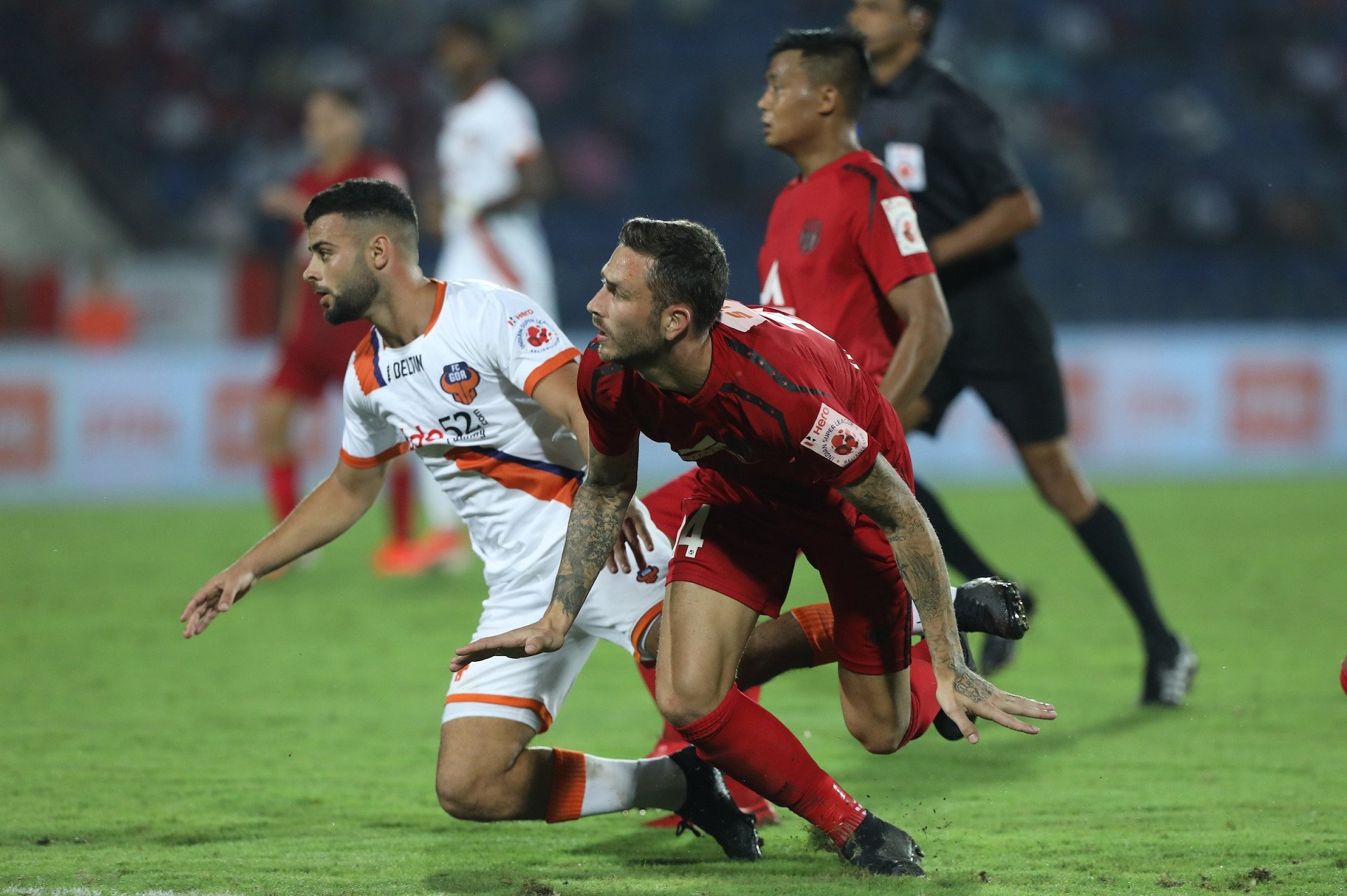 AIFF suspends three ISL players for on-field incident