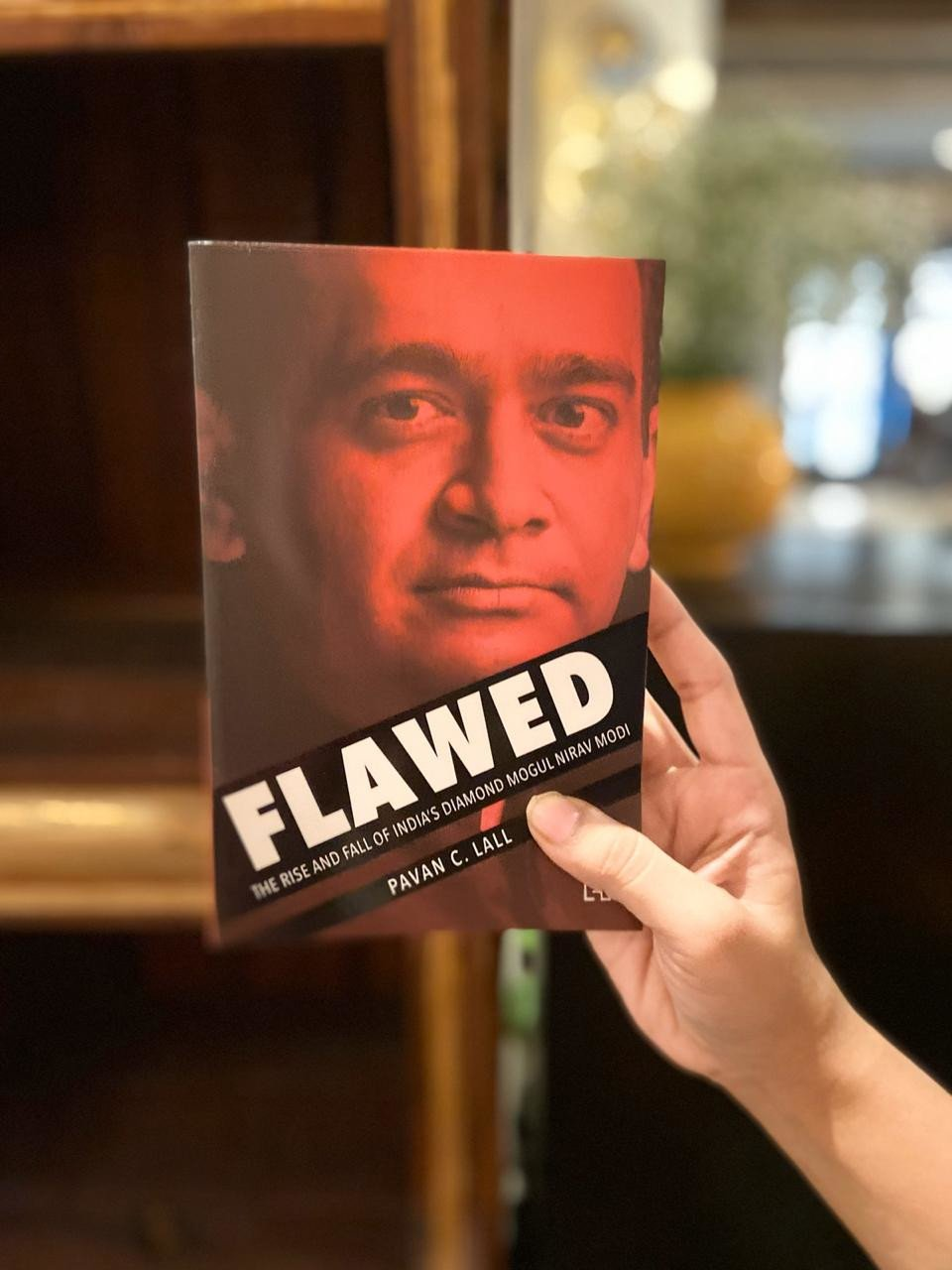 The incredible Twists And Turns Of Nirav Modi's Story: Pavan C. Lall Releases His Book 'Flawed'